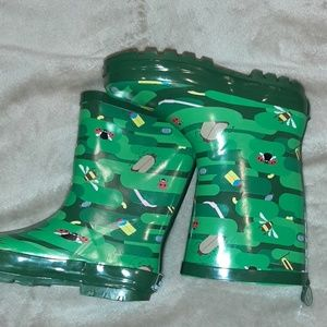 Kid Made Modern Rubber Boots Size Large 4/5